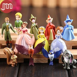 Wholesale Kid Priness - New 12pcs Sophia the First Priness Family Cartoon Model Mini Action Figure Collection Toys Kids Girls Birthday Gift Cake Topper