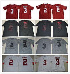 Wholesale Gold Cooper - 2017 Men and Youth Alabama Crimson Tide College football jerseys Jalen Hurts Ridley 3 Derrick Henry 27 Amari Cooper Jerseys