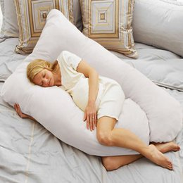 Wholesale U Pillow Pregnancy - U Shape Total Body Pillow Pregnancy Maternity Comfort Support Cushion Sleep