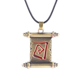Wholesale Roll Slide - DOTA2 transfer roll sleeve pendant necklace turret 2 games around Europe and America selling jewelry pendants
