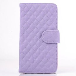 Wholesale S3 Leather Case Bling - Bling Diamond Sheep Wallet Leather Case For Samsung Galaxy S3 S4 S5 NOTE5 LG K4 K7 M1 K10 M2 Stand Checker Pouch Photo Frame TPU Card Cover