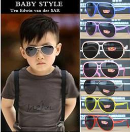 Wholesale Kids Polarized Sunglasses - 2016 new summer kids children Sunglasses Retro Sunglasses Y010 UV protective sunglasses outdoor sports beach acessoriess