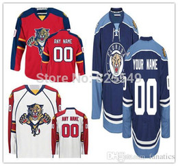 Wholesale Wholesale Name Jerseys - Wholesale Custom Florida Panthers Hockey Jerseys Customized All Stitched Any Name Any Number For Men Women And Youth Size S-4XL