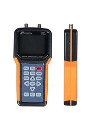 Wholesale Dual Channel Handheld Oscilloscope - Wholesale-JDS2022A Handheld Oscilloscope portable Oscilloscope 20MHz 2 channels Digital Storage dual channels 200M Sa s