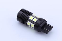 Wholesale 7443 Cree Led - 12W Super Bright T20 W21W 7440 7443 CAR Cree R5 Emitter LED Canbus Error-Free backup Turn Signal REVERSE LIGHTS barke lamp BULB