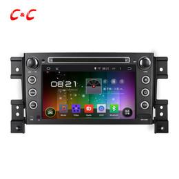 Wholesale Grand Vitara Radio - Quad Core 1024x600 Android 5.1.1 Car DVD Player for Grand Vitara with Radio GPS Navi Wifi DVR Mirror Link SWC+Free Gifts