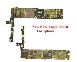 Wholesale Iphone Main Logic Board - Motherboard Main Logic Bare Board Replacement Part For iPhone 4 4s 5g 5s 5c 6 6g 6 plus for phone repair refurbish