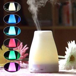 Wholesale Wholesale Air Bar - 2016 100ml Essential Oil Diffuser Portable Aroma Humidifier Diffuser LED Night Light Ultrasonic Cool Mist Fresh Air Spa Aromatherapy ST-08