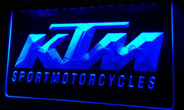 Wholesale Motorcycle Neon Signs - LS206-b-KTM-Motorcycles-Neon-Light-Sign Decor Free Shipping Dropshipping Wholesale 6 colors to choose