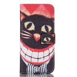 Retro occhi Kelly Cute cartoon gatto fiore pirata portafoglio in pelle stand cover per Sumsung galaxy s6 bordo s7 bordo da i casi cute dei bordi della galassia s6 fornitori