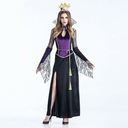Wholesale Sexy Play Costume - Women Cosplay Costumes For Halloween Sexy Character Witch Cosplay Costume Hallowmas Theme Party Role Play Uniform Party Club Clothes