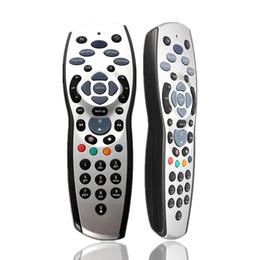 Argentina Alta calidad Universal TV Reemplazo del mando a distancia del televisor Control para Sky + HD Rev9 Sky HD Silver + Black 100pcs / lot envío gratis Suministro