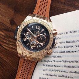 Wholesale Mens Watches Brands - All Subdials Work AAA Mens womenes Stainless Steel Quartz Wristwatches Stopwatch Luxury Watch Top Brand relogies for men relojes Best Gift