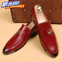 Wholesale Top Brand For Heels - NEW arrival British red leather shoes Men's dress shoes Male Business oxford shoes ,Top quality brand for men designer shoes NXX320