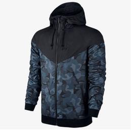Wholesale Hooded Sweatshirts Zipper Men - Camouflage coat male New Man Spring Autumn Hoodie Jacket men Sportswear Clothes Windbreaker Coats sweatshirt tracksuit