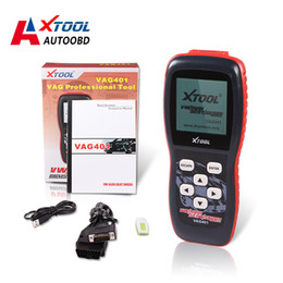 Wholesale Trouble Code Scanners - XTOOL VAG401 OBD2 OBDII Scanner 2016 100% Original ABS SRS Engine Trouble Code Reader Update Online Free shipping