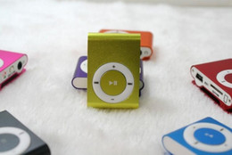 Wholesale Cheap Price Mp3 - wholesale factory price cheap and quality clip MP3 player at low cost with different colors