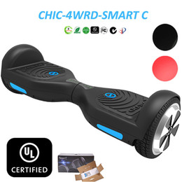 Wholesale Usa Wheels Self - USA Stock UL 2272 Hoverboard Smart Scooter IO CHIC C1 4WRD Electric Scooters Skateboards Drifting Board CE ROHS UL Self Balancing Scooter