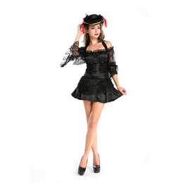 Wholesale Women Clothes Jack - COS the upscale pirates of the Caribbean Halloween costumes men's and women's pirate clothing pirate captain jack nightclub stage
