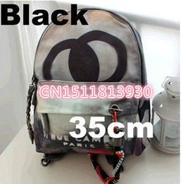 Wholesale Women Trunk Bags - HOT LARGE CATWALKS NEW DUAL CANVAS BAG CASUAL BACKPACK