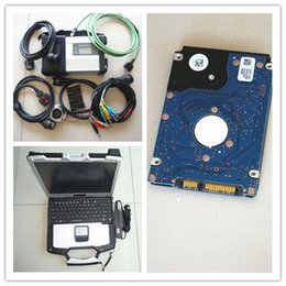 Wholesale Used Diagnostic Tools - mb star c5 with software superspeed hdd with laptop toughbook cf-30 with battery for mb diagnostic tool mb sd ready to use