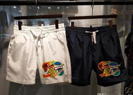 Wholesale Painting Loose - 2017 New brand Arrival Summer Men's Shorts Sport Swimwear Shorts Pants Board Sports Half Loose surf Striped beach Shorts moleton masculino