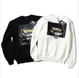 Wholesale Tooth Suit - FNTY harajuku swag streetwear hiphop kpop HOOD plus size sweat suit clothing men golden teeth fleece graphic Cotton sweatshirts