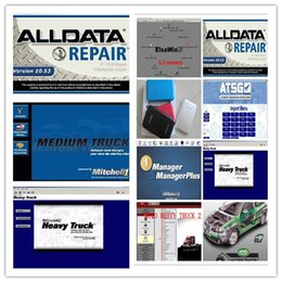 Wholesale Moto Auto - alldata Auto Repair 10.53 + mitchell manager + mitchell ultramate collision+mitchell on demand + moto heavy truck 49in1 1tb