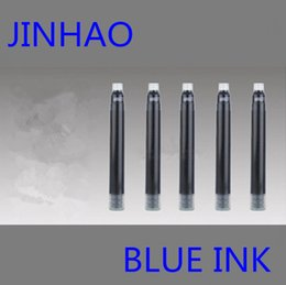 Wholesale Cartridges Fountain Pen Jinhao - Wholesale-30PCS Jinhao Brand High Quality Best Design Fountain Pen Ink Cartridge Refills Blue Suit for MB   Jinhao   Baoer Ect Pen