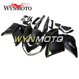 2019 r1 carenados Negro mate carenados completos para Kawasaki GTR1400 2008-2011 08 -11 Inyección ABS Kit de carenado de la motocicleta Cubridos Body Kit Cubiertas