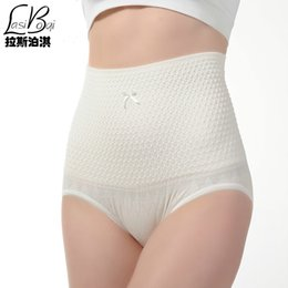Wholesale Sexy Cheap Bodysuits - Wholesale-2016 new cheap hot fashion sexy Cotton underwear Ms. waist postpartum abdomen waist hip big yards Wowen summer pants briefs Fat