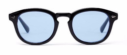 Wholesale Vintage Sunglasses Cheap - Moscot muti-color tinted sunglasses UV400 protection Star-style pure-plank goggles unisex with original packing cheap wholesale price