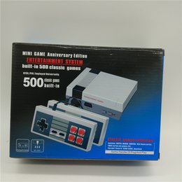 Wholesale Computer Tvs - Mini TV Game Console AV 8 Bit Retro Video Game Console Built-In Games Handheld Gaming Player Best Gift Famliy Computer Console