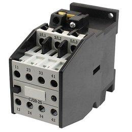 Wholesale 36v Ac Motors - Wholesale-CJ20-25 Motor Control 32A 36V 50Hz Coil 3 Pole 2NO 2NC AC Contactor