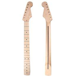 Canada Touche de manche en érable manche guitare 22 frettes pour pièces de rechange pour manche de guitare électrique Offre