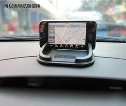 Машина вся супер силиконовые мобильного телефона коврик автомобильный GPS навигатор кронштейн магия силикагель коврик для приборной панели циновки Выскальзования циновка Выскальзования non supplier super brackets от Поставщики супер скобки