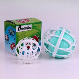 Wholesale Underwear Balls - Plastic Women Bubble Bra Bag Ball Laundry Underwear Lingerie Magic Washing Machine Saver Protector Kepping Clothes Cleaning Tools