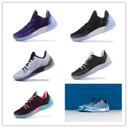 Wholesale Men Soccer Shoes Venom - NEW HOT Kobe 5 Venomenon generation Basketball Shoes latest kb venom 5 v sports shoes Men Retro Sports Shoes 40-46