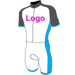 Wholesale Custom Cycling Jerseys - 2016 Custom Cycling Jersey And (NONE) BIB Shorts Summer Set DIY Bicycle Wear Polyester + LyCra Any Color Any Size Any Design Free shipping
