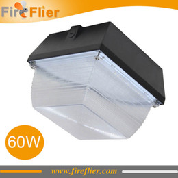 Wholesale Airport Parking - FREE Shipping 6pcs 60W 90W 100W garage led lamp surface mounted canopy led lamp ceiling parking lot corridor light 40w canopy luminaire