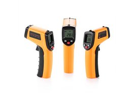 Wholesale Instant Power - Digital IR Infrared Thermometer,Non-contact LCD Laser Temperature Gun -50 ~ 380 and -58 ~ 716H), Instant-read Handheld,Auto Power Off Backli