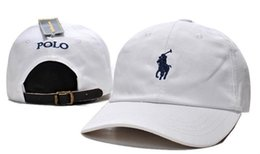 Wholesale Baseball Polo - 2017 best-selling well-known designers POLO high-end luxury brand men's and women's fashion brand hat outdoor baseball caps free shipping