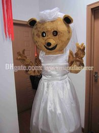 Wholesale Mascots For Cheap - Selling wedding plush brown bear mascot costume for sale cheap, high-quality Bear animal mascot suit free shipping.
