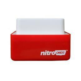 Wholesale Drive Box Bmw - Nitro OBD2 Chip Tuning Box NitroOBD2 Performance Plug and Drive OBD2 Chip Tuning Works For TOOL Diesel Retail Box