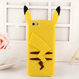 Wholesale Galaxy 4s Case Cover Cute - Cartoon Cute Silicone Cover Case For iPhone 4 4s 5 5s se 6 6s Plus Case For Samsung Galaxy S5 S6 S7 edge