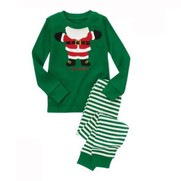 Wholesale Serving Pieces - A piece of foreign trade pure cotton home to serve the children's pajamas with children's pajamas
