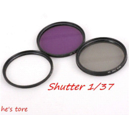 Wholesale 67 Mm Uv - Green 67 mm UV + FLD + CPL Lens Filter Protector for canon nikon pentax sony