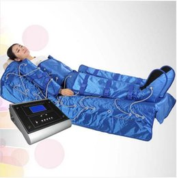 Wholesale Infrared Blanket Therapy - infrared pressure therapy thermal slimming lymphatic drainage blanket with ems massager