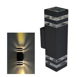 Lâmpada led ip65 on-line-1 pcs 10 W À Prova D 'Água LEVOU Luz de Parede Hall Porch Sconces Decor Luminária ao ar livre IP65 up and down Lâmpada de Parede lamparas lâmpada LED AC85-265V