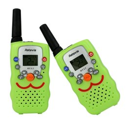 Wholesale Two Way Radios For Kids - 2pcs Retevis RT32 Children Walkie Talkie UHF 0.5W 22CH VOX Alarm Monitor Ham Radio Comunicador Hf Transceiver For Kids A9113